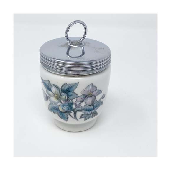 Royal Worcester Porcelain Woodland Egg Coddler